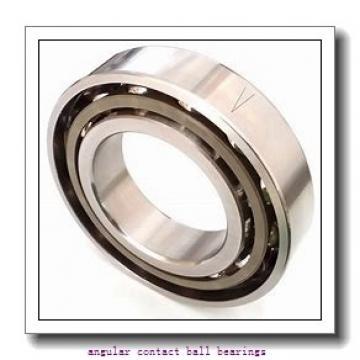 35 mm x 72 mm x 26,988 mm  FBJ 5207 angular contact ball bearings