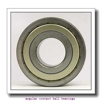 39 mm x 68,07 mm x 37 mm  ISO DAC39680037 angular contact ball bearings