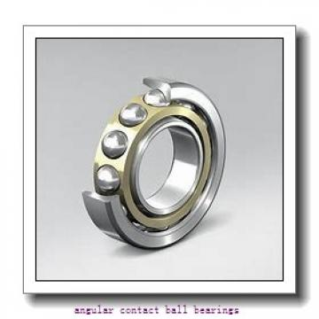 90 mm x 190 mm x 43 mm  NSK QJ318 angular contact ball bearings