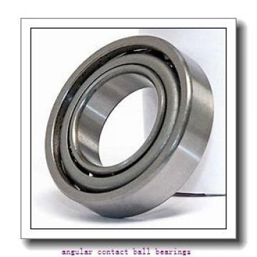 30 mm x 72 mm x 19 mm  SKF 7306 BECBM angular contact ball bearings