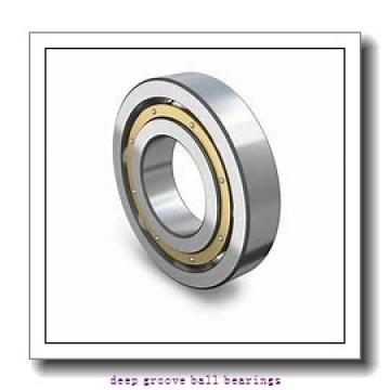 95 mm x 145 mm x 24 mm  FAG 6019 deep groove ball bearings