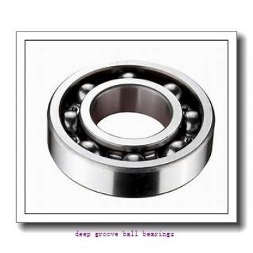 60 mm x 95 mm x 18 mm  NACHI 6012N deep groove ball bearings
