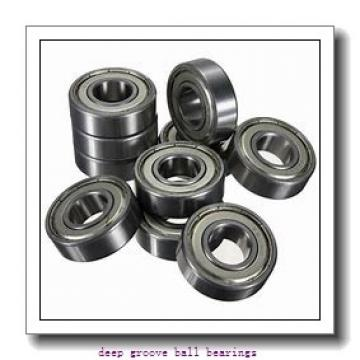 20 mm x 72 mm x 19 mm  ZEN 6404 deep groove ball bearings