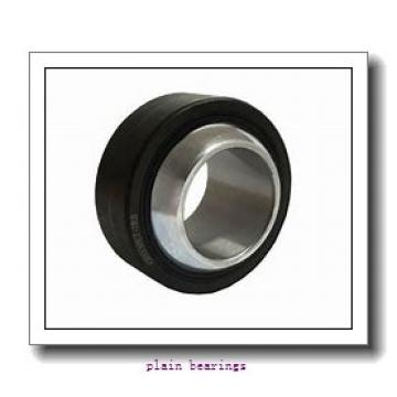 100 mm x 210 mm x 51 mm  SKF GX 100 F plain bearings