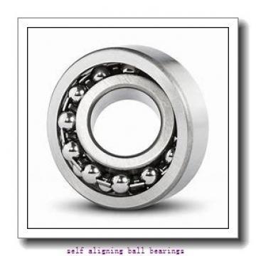 55 mm x 100 mm x 21 mm  ISO 1211K self aligning ball bearings