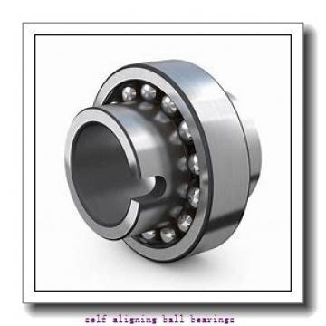 30 mm x 62 mm x 16 mm  NKE 1206 self aligning ball bearings