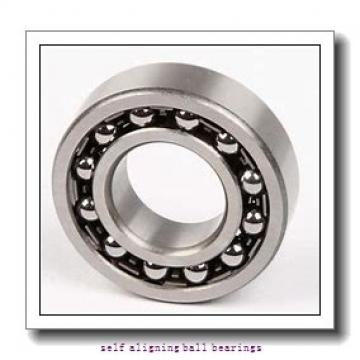 25 mm x 62 mm x 17 mm  NACHI 1305K self aligning ball bearings