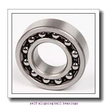 8 mm x 24 mm x 8 mm  NMB PBR8EFN self aligning ball bearings