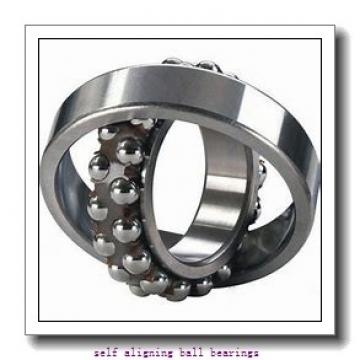 100 mm x 215 mm x 73 mm  NKE 2320 self aligning ball bearings