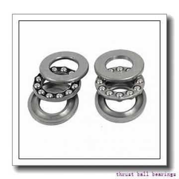 INA FT43 thrust ball bearings