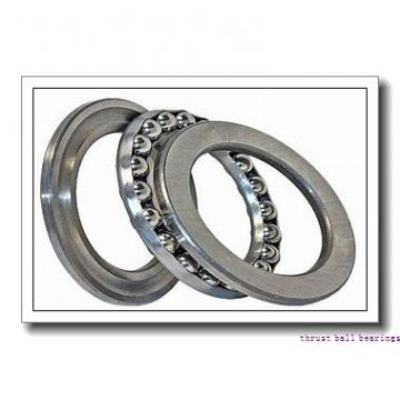 40 mm x 72 mm x 15 mm  NACHI 40TAB07 thrust ball bearings