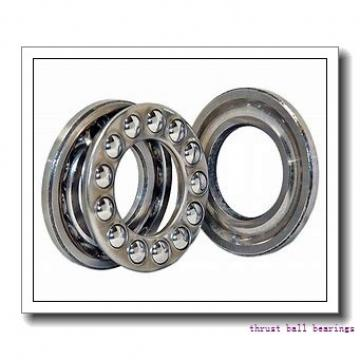 190 mm x 320 mm x 40 mm  NSK 52338X thrust ball bearings