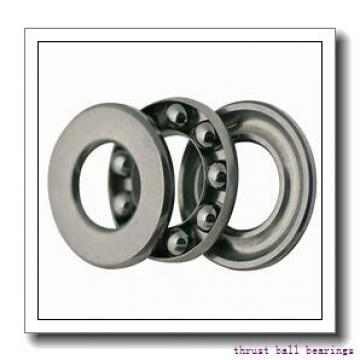 25 mm x 60 mm x 9 mm  SKF 52306 thrust ball bearings