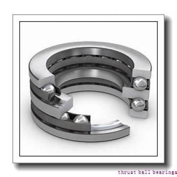 75 mm x 130 mm x 31 mm  SKF NUP 2215 ECP thrust ball bearings