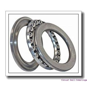100 mm x 210 mm x 27 mm  NKE 54324-MP thrust ball bearings