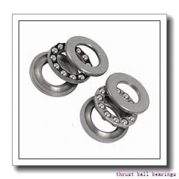170 mm x 360 mm x 72 mm  SKF NU 334 ECM thrust ball bearings