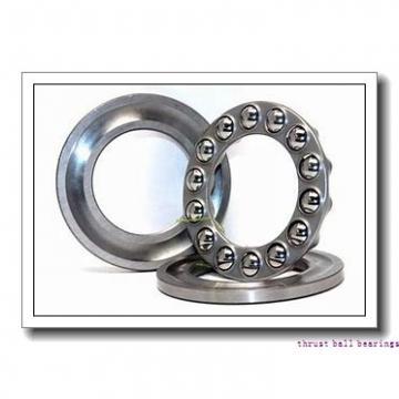 17 mm x 47 mm x 15 mm  NACHI 17TAB04DF thrust ball bearings