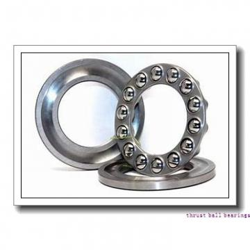 70 mm x 125 mm x 24 mm  SKF NU 214 ECP thrust ball bearings