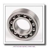 25 mm x 62 mm x 17 mm  NACHI 1305K self aligning ball bearings